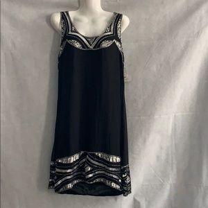 ANGIE BLACK SEQUINS DRESS AIZW M